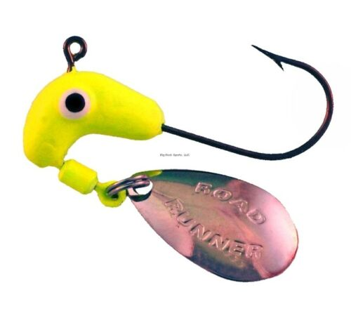 Blakemore TTI Fishing Co Road Runner Bulk Head Hook Chartreuse, 1// 152-012 NEW