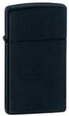 Zippo 1618 black matte slim Lighter