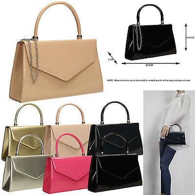 Women Suede Velvet Leather Envelope Ladies Evening Party Prom Clutch Bag Handbag