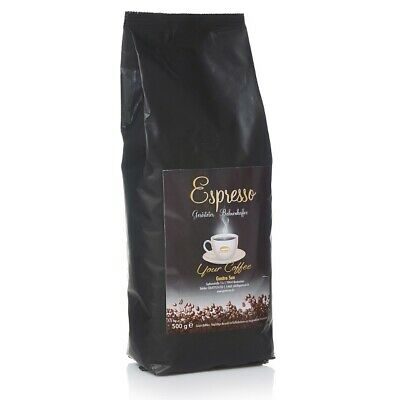 Gastrosun Espresso Kräftig Bohne 500g Kaffee Espressobohnen Door Wetenschappelijk Proces