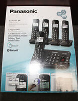 Panasonic Kx-tg465sk Dect 6.0 Bluetooth 5 Handset Phone Black 2014 Model