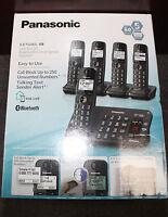 Panasonic Kx-tg465sk Dect 6.0 Bluetooth 5 Handset Phone Black 2014 Model