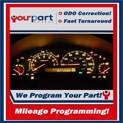 ODOMETER CORRECTION PROGRAMMING 04-09 F-150 F-250 INSTRUMENT CLUSTER SPEEDOMETER