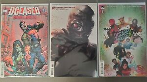 DCeased-Unkillables-3-Three-Comic-Lot-Regular-Cover-Mattina-Variant-amp-Horror