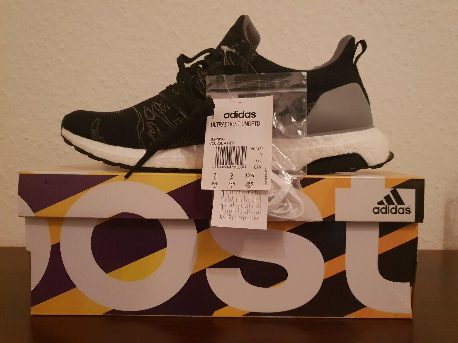 Undefeated x Adidas Ultra Boost BC0472 EU 43 1 3  US 9,5  UK9 Yeezy Travis Scott