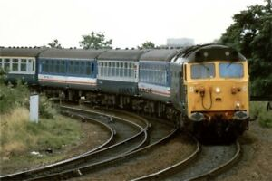 PHOTO  CLASS 50 LOCO NO 50007 AT EXETER 1988 - Tadley, United Kingdom - PHOTO  CLASS 50 LOCO NO 50007 AT EXETER 1988 - Tadley, United Kingdom