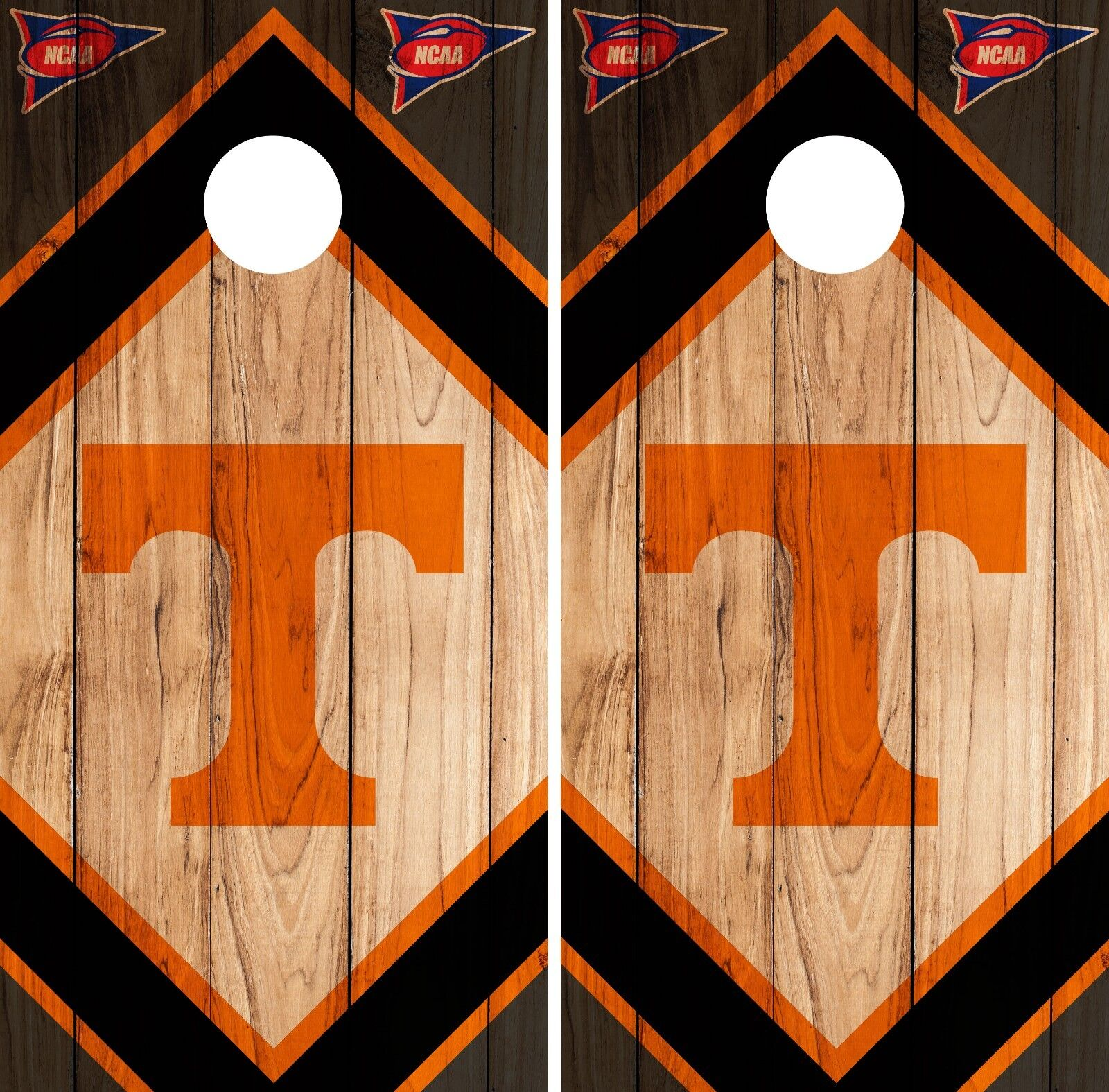 Tennessee Volunteers Cornhole Wrap NCAA Vintage Skin Vinyl Decal Set CO811