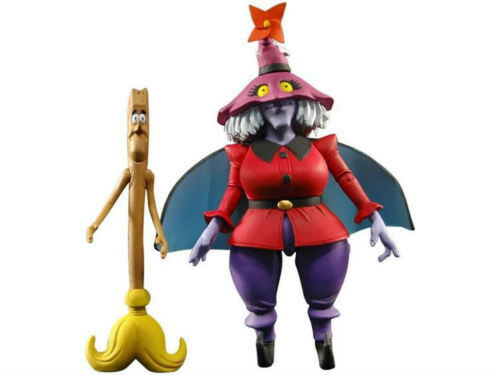 MOTU Classics Madam Razz and Broom Figure NEW Worldwide