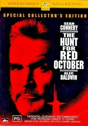 DVD THE HUNT FOR RED OCTOBER SPECIAL EDITION SEAN CONNERY BRAND NEW UNSEALED