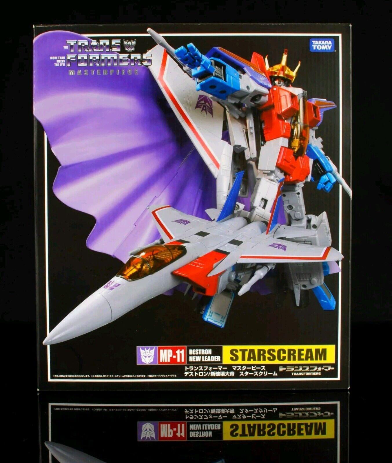 Starscream MP-11 SEALED Transformers Masterpiece US SELLER MIB New