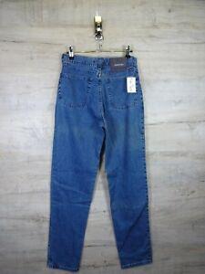 Trapunta Vintage 90s DEADSTOCK NUOVI STONE ISLAND MARINA Denim Jeans Pantaloni RARA refA 24