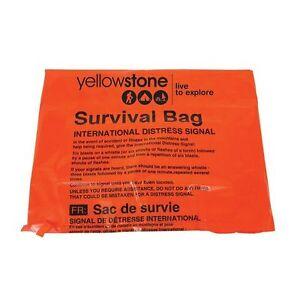 Tilltoo-Emergency-Orange-Survival-Bag-Bivy-Size-90cm-x-180cm-Camping-Hiking