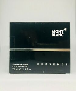 Mont-Blanc-Presence-After-Shave-Lotion-75ml-Neuf-amp-Rare