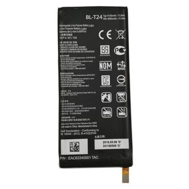 LG Batería original BL-T24 para X POWER K220 4000mAh Pila Piezas de repuesto