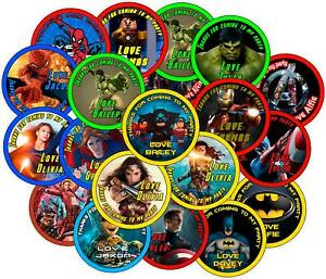 Personalised-Party-Bag-Stickers-Super-Hero-Theme
