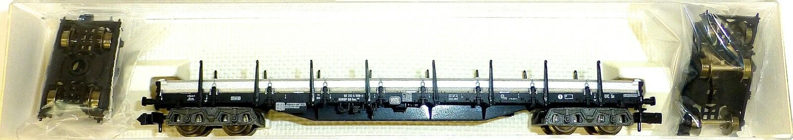 SBB CARRO PIATTO res carrello carico EPV Fleischmann 828702 N 1:160 OVP hq2 µ *