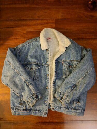 Levis Sherpa 1980s Made In USA Large nice today's