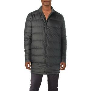 Cole-Haan-Mens-Zerogrand-Black-Winter-Reversible-Puffer-Jacket-S-BHFO-4595