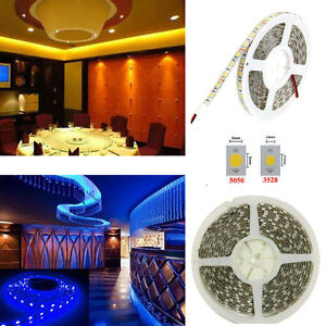 SUPERNIGHT-5m-5050-SMD-150-300Leds-Flexible-LED-Rope-Strip-Lights-DC-12V-Lamp