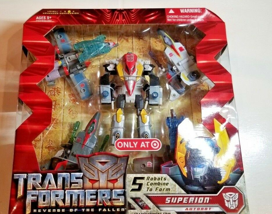 NEW SEALED Transformers Revenge of Fallen Superion Aerialbots Combiners 2009