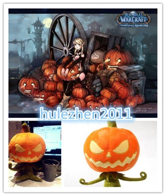 WOW World of Warcraft Sinister Squashling Soft Figure Doll Stuffed Plush Toy NEW
