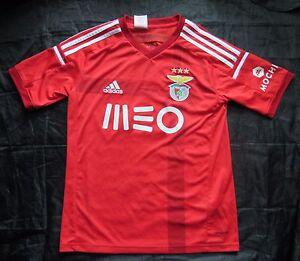 66bed90a64f SL Benfica Lisboa home jersey shirt ADIDAS 2014-2015 BOY L 152-158cm ...