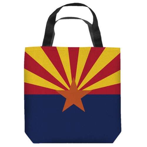 ARIZONA State FLAG Tote Bag Many Sizes