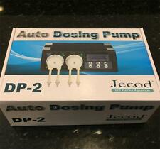 JEBAO/JECOD DP-2 AQUARIUM AUTO DOSING PUMP - 2 CHANNEL DOSING