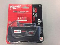 Milwaukee M18 Red Extended Battery Pack BRAND NEW! Mississauga / Peel Region Toronto (GTA) Preview
