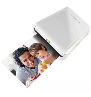 Polaroid Zip Mobile Printer - White Instant Printing Anywhere The Polaroid ZIP