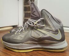 cheap for discount 91db7 aa9db item 3 Nike Lebron X 10, 541100-007, Grey Yellow, Mens Basketball Shoes,  Size 10 -Nike Lebron X 10, 541100-007, Grey Yellow, Mens Basketball Shoes,  Size 10