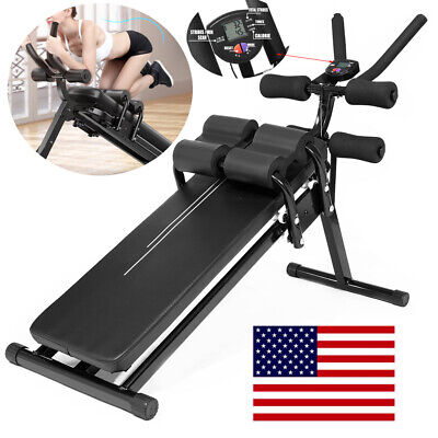 US Shipping CCTO Foldable Sit Up Bench,Crunch Board Fitness Home Gym Exercise Sport,for Full Body Workout with Fast Folding