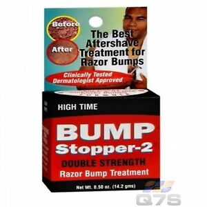Bump-Stopper-2-High-Time-Double-Strength-Razor-Treatment-GENUINE