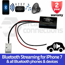 CTAPE1A2DP Peugeot 207 A2DP Bluetooth Streaming Interface Adapter iPhone Samsung