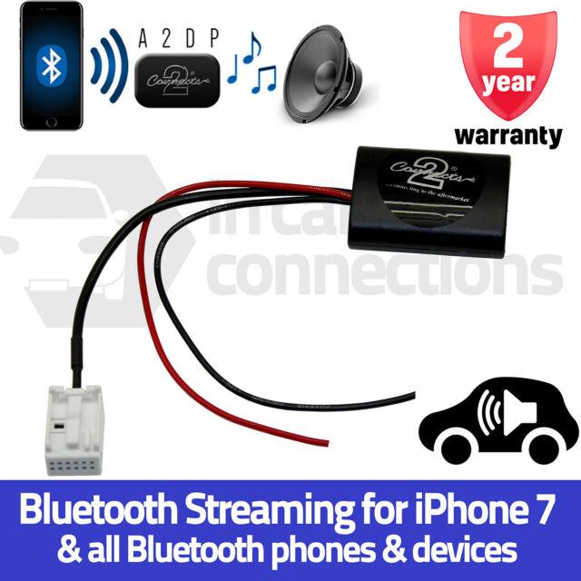 CTAPE1A2DP Peugeot 307 A2DP Bluetooth Streaming Interface Adapter iPhone Samsung