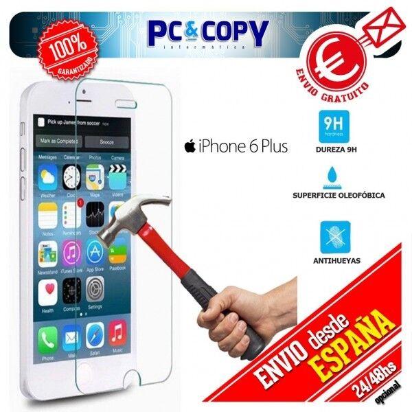 Cristal templado protector pantalla iphone 6 Y 7 plus (5,5 pulgadas)Premium 0,3m