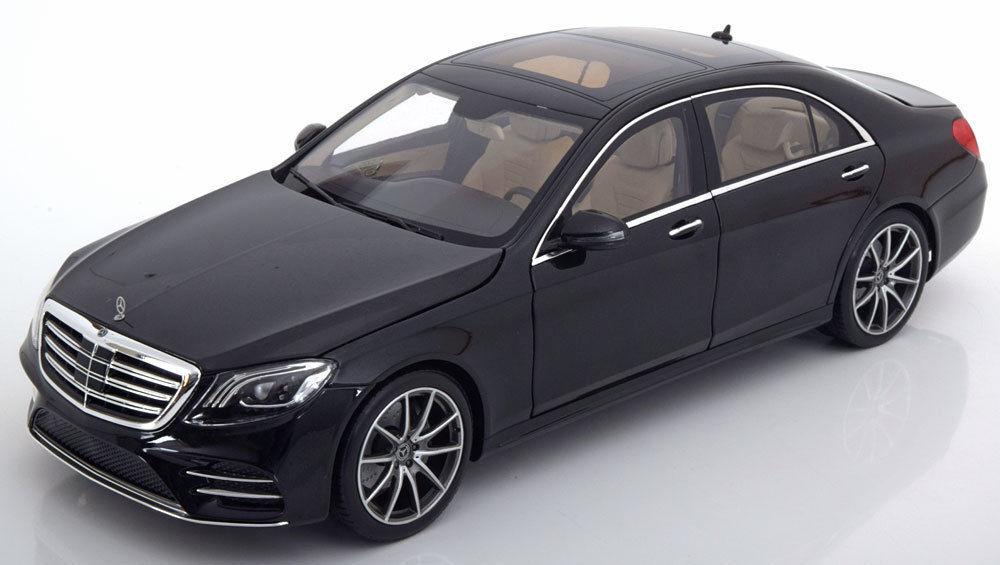 punto de venta I-escala 2017 Mercedes Benz S S S Klasse V222 MOPF Negro (distribuidor) 1 18  Nuevo    última     Esperando por ti