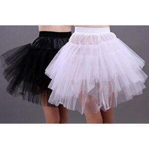 3-Layers-Women-Adult-Princess-Dancewear-Tutu-Ballet-Pettiskirt-Party-Skirt-Dress