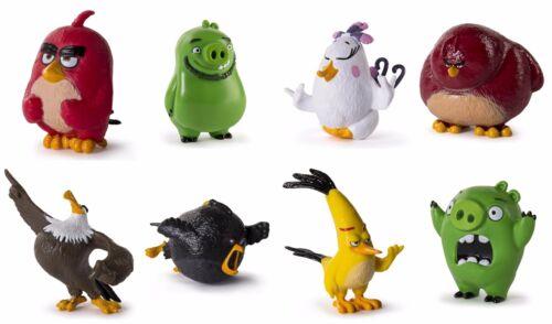 8 Matilda Leonard Rot Plus Film- & TV-Spielzeug Angry Birds Sammlerstück Figuren Vinyl Komplettset