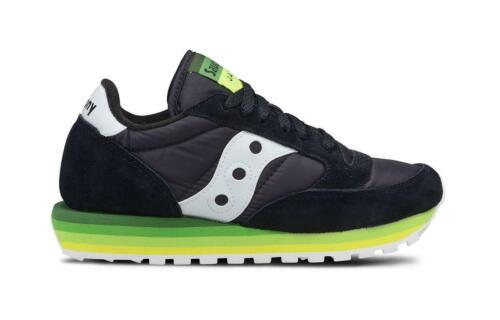 Sneaker Saucony donna Jazz O/' Rainbow 60195 nero verde ss19