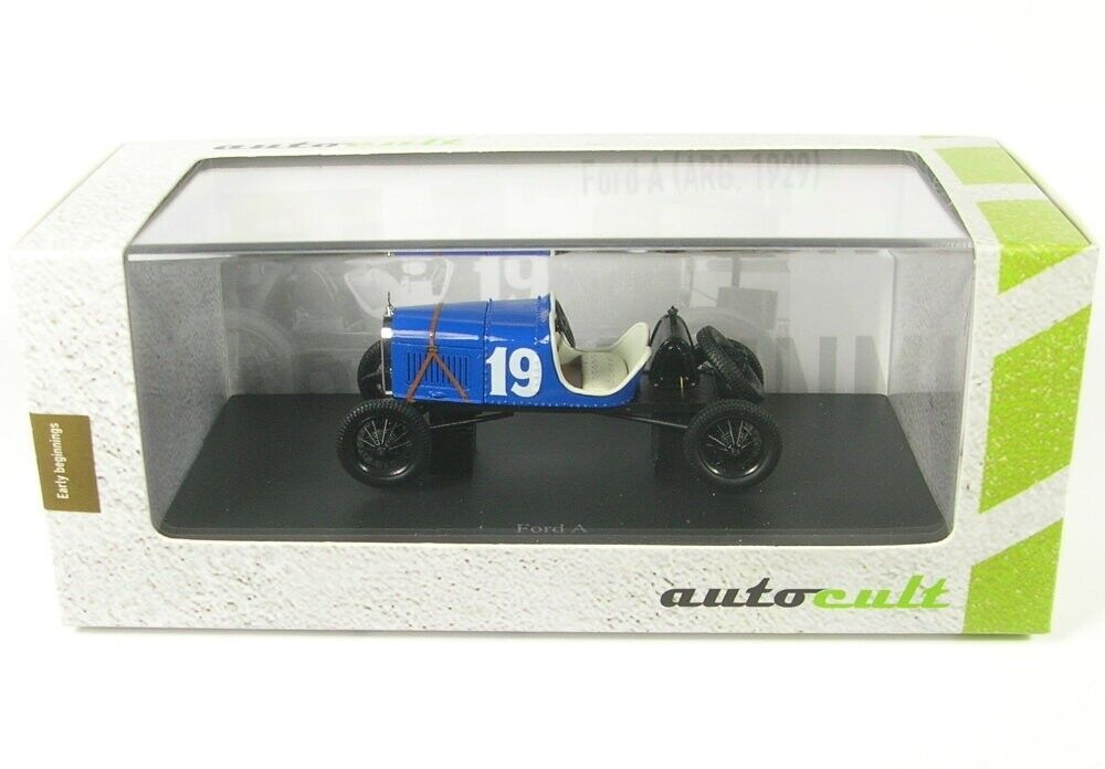 Ford a No. 19 (silverina, 1929) Juan Manuel Fangio