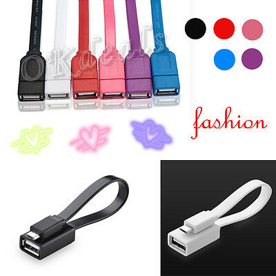 New Noodles Micro USB HOST OTG Cable Adapter For Samsung Galaxy S3/4 Note2 HTC