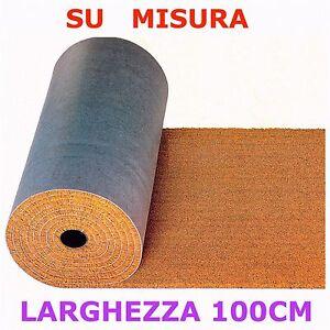 Zerbino cocco Tappeto esterno vendita SU MISURA a multipli di 10cm altezza 1mt
