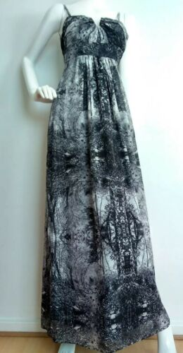 0 photo Robe Zaide taille Uk6 Baker Ted New Marque imprimée maxi Designer qtY8fx