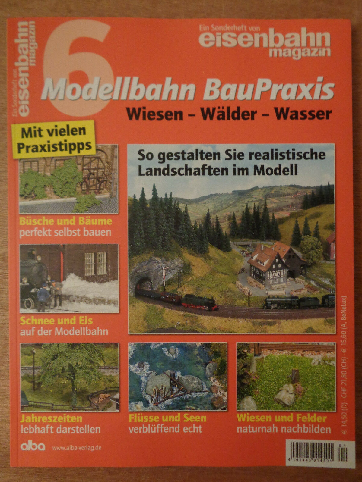 Railway Magazine No.6 Model Railway Baupraxis