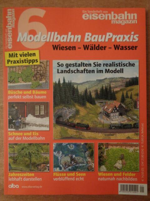 Modelleisenbahn eisenbahn magazin Nr.5 Modellbahn BauPraxis ...