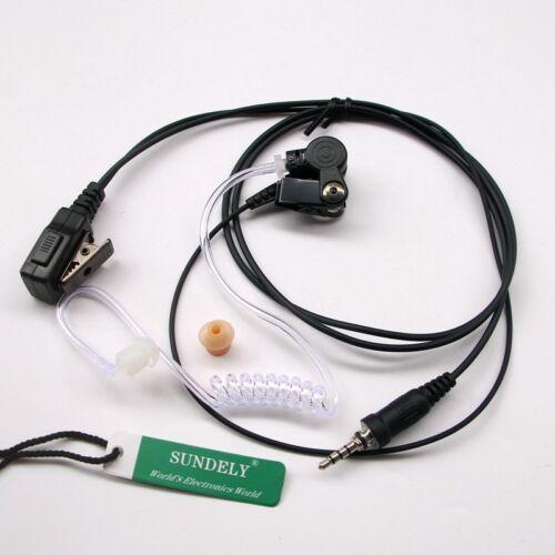Acoustic Headset//Earpiece For Yaesu Vertex Standard Radio VXA-710 VX-A220 VXA300