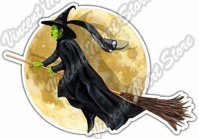 "Witch Wicked The Wizard of Oz Magic Sorcery Car Bumper Vinyl Sticker Decal 5/""X4/"""