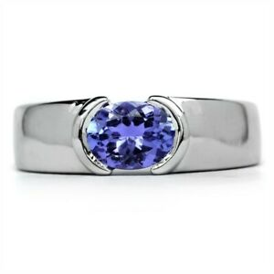 7x5mm-Natural-Lavender-Blue-Tanzanite-Ring-in-925-Sterling-Silver