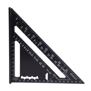 Triangle-Angle-Square-Speed-Rafter-Protractor-Miter-Ruler-Kit-new-VT-D